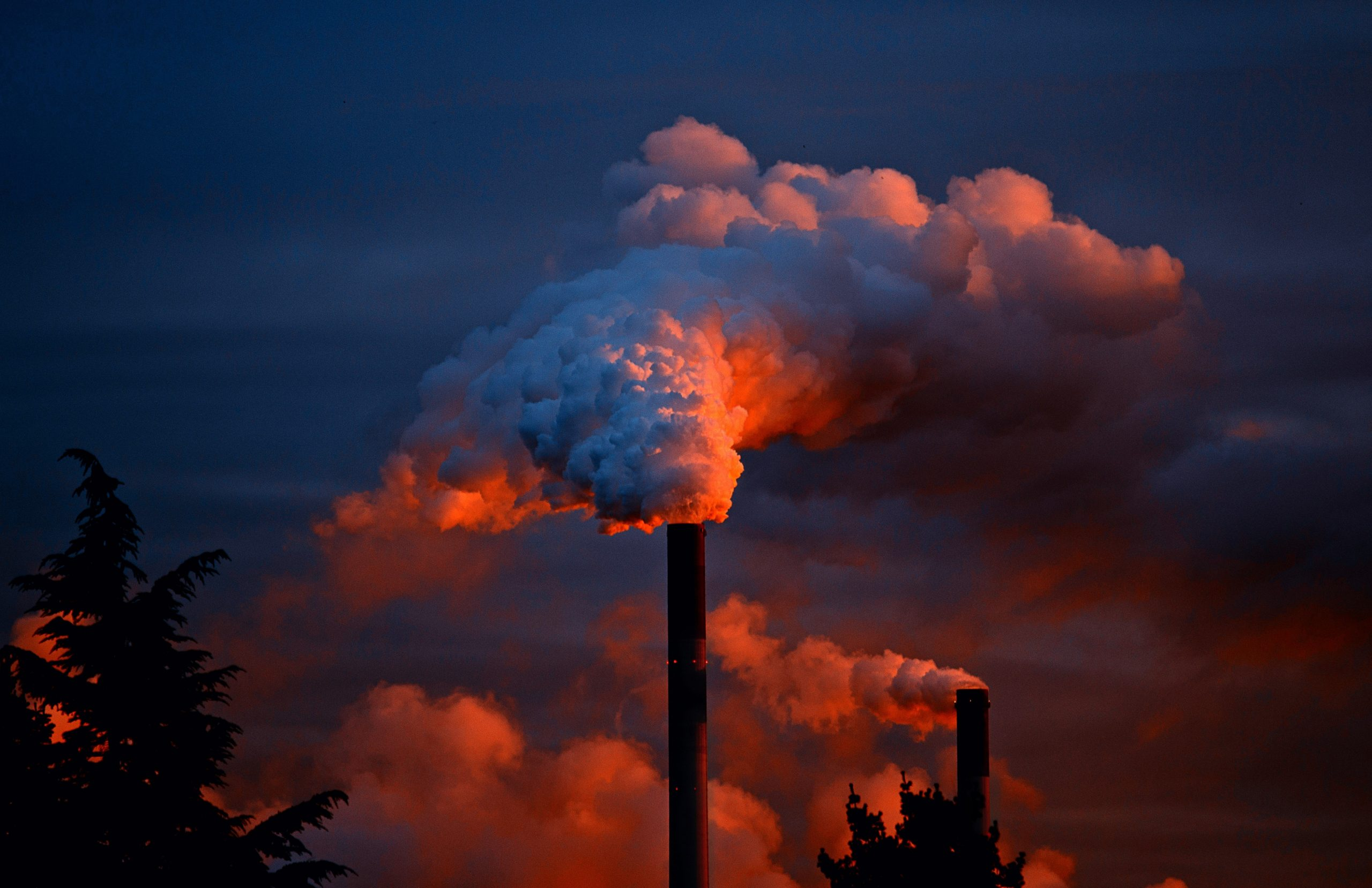 fumée usine particules fines