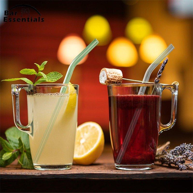 Pailles en verre